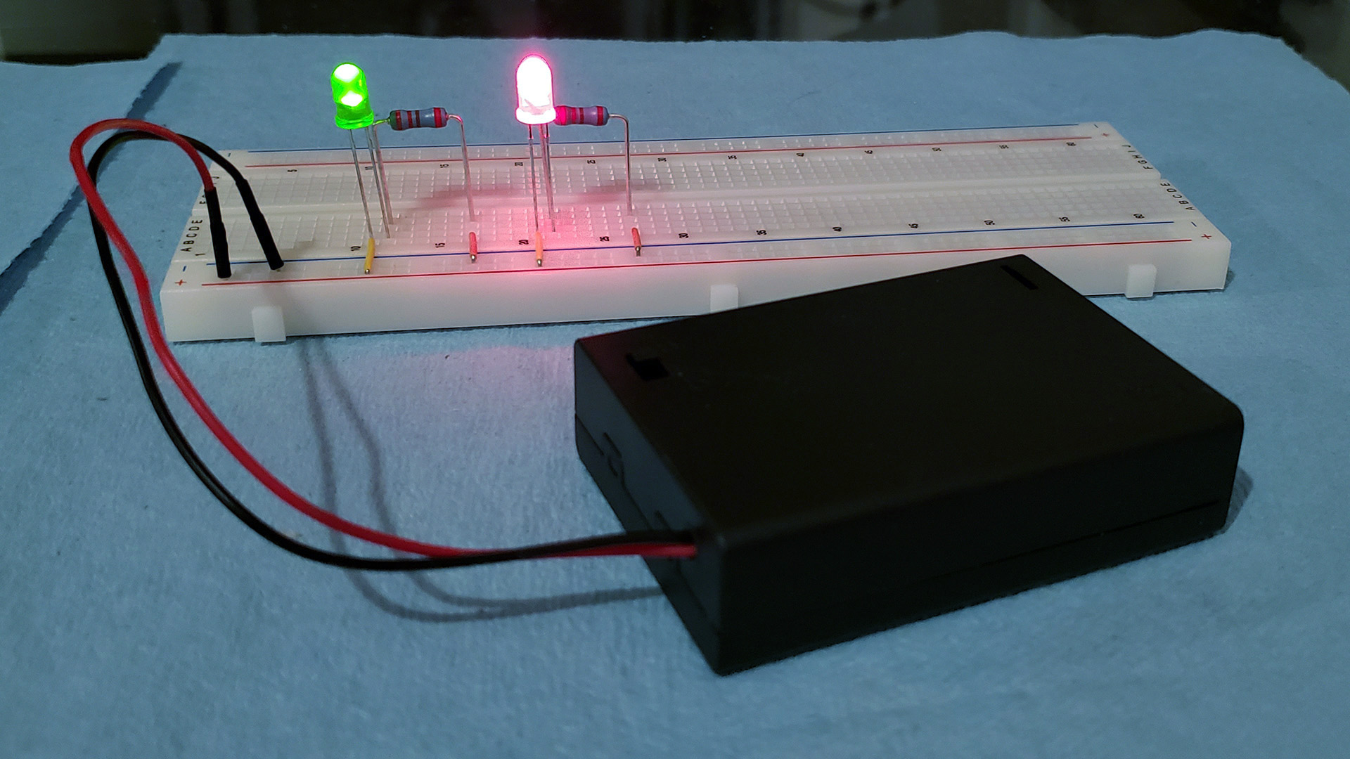 Leds wiring in parallel multiple wiring multiple